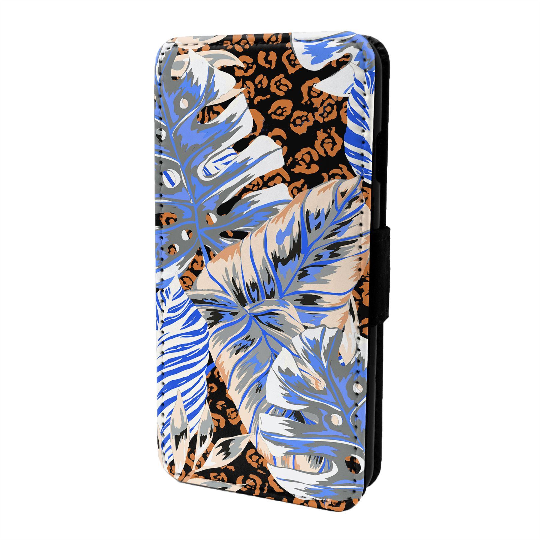 Tropical-Estampado-Funda-Libro-para-Telefono-Movil-S7116