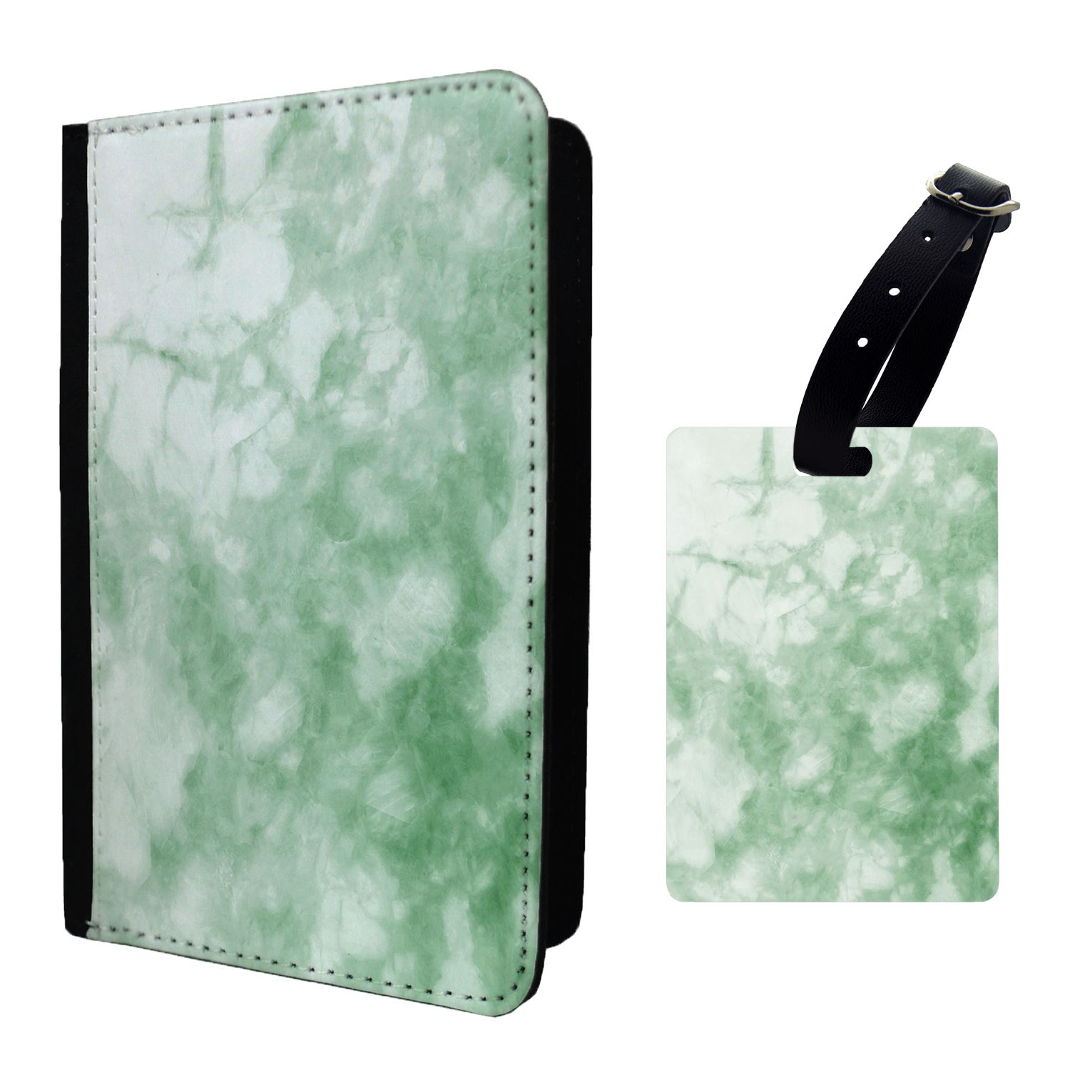 Passport Holder Case Cover Pink Marble Pattern S359