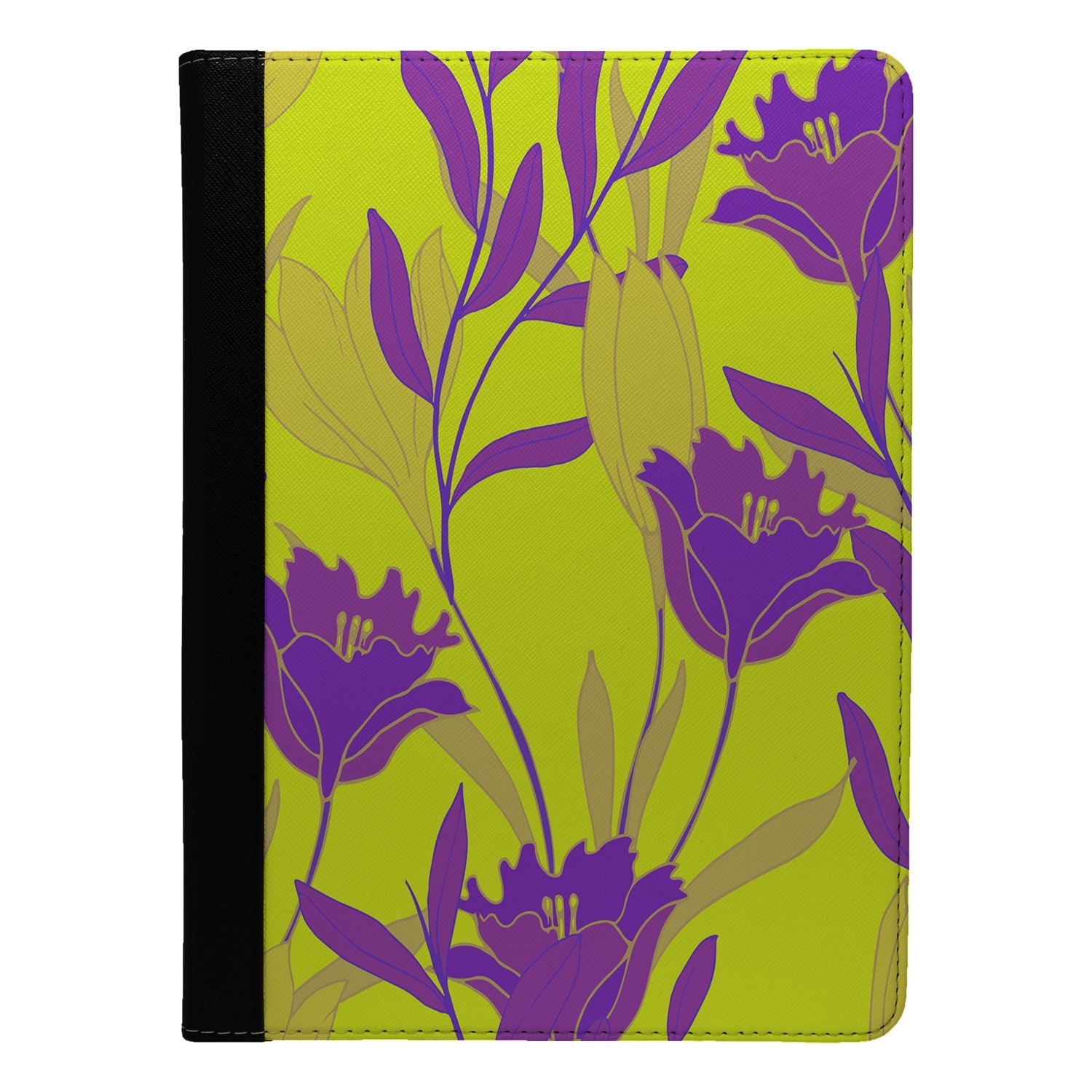 Flowers-Floral-Print-Flip-Case-Cover-For-Apple-iPad-S8979