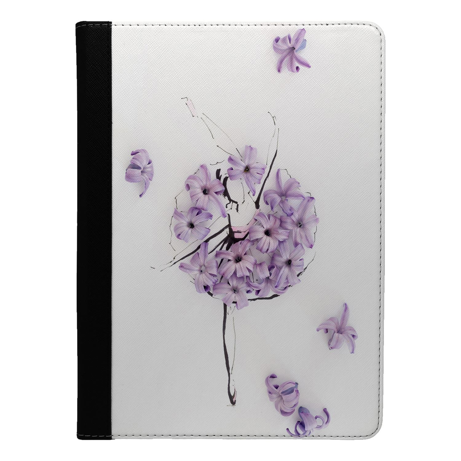 Dance-Music-Ballerina-Flowers-Flip-Case-Cover-For-Apple-iPad-S911