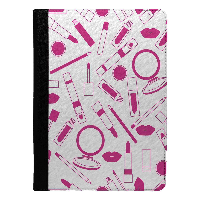 Make-Up-Girl-Pattern-Flip-Case-Cover-For-Apple-iPad-S9040