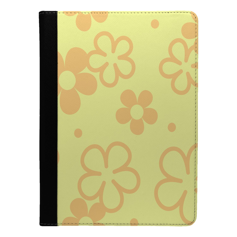 Retro-Flower-Pattern-Flip-Case-Cover-For-Apple-iPad-S8536