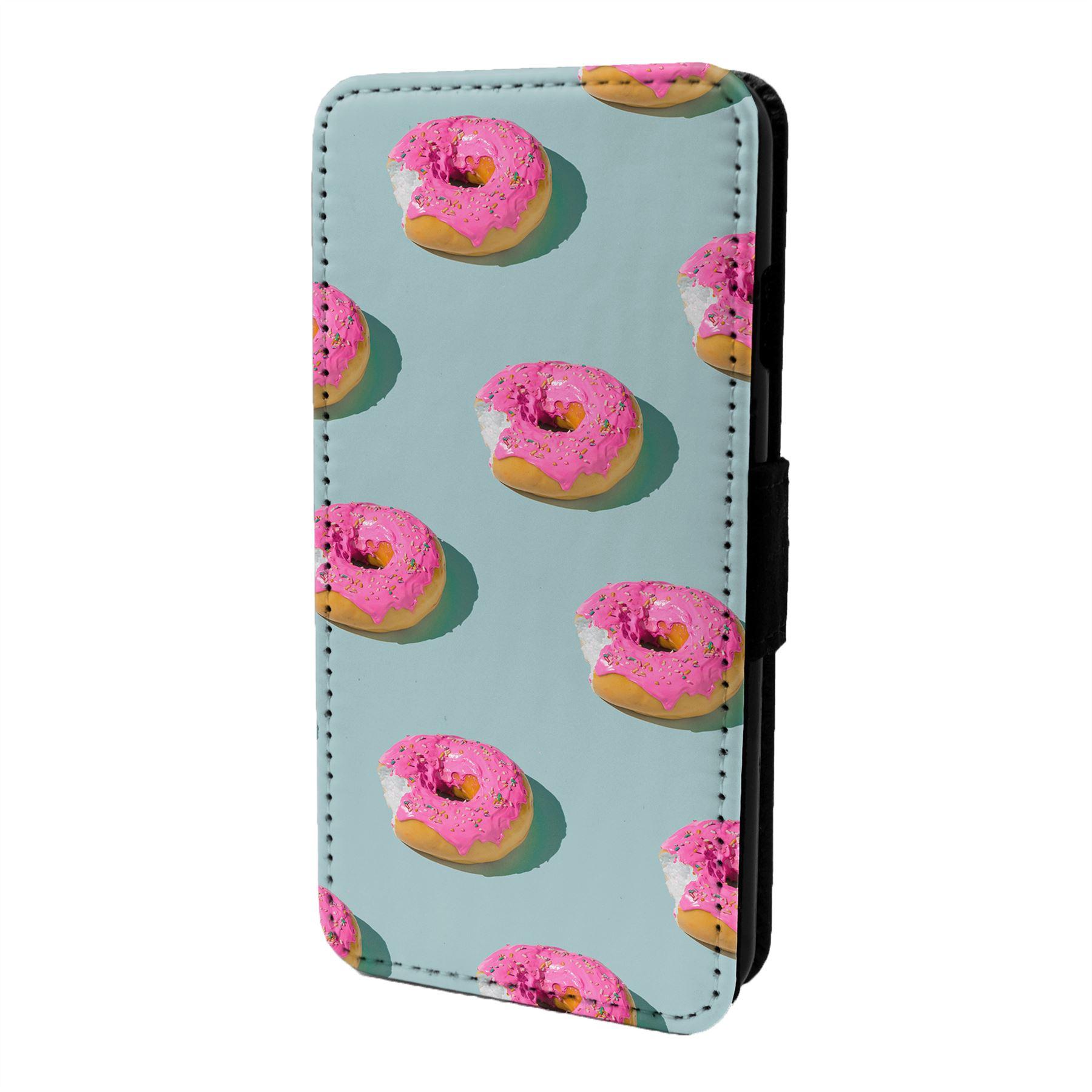 Pastel-Donut-Funda-Libro-para-Telefono-Movil-S7015