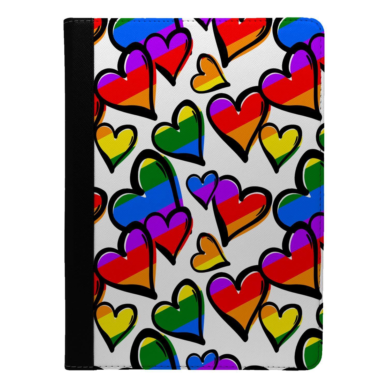 LGBT-Pride-Rainbow-Flip-Case-Cover-For-Apple-iPad-S9026