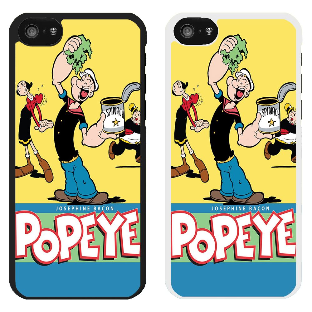 popeye the sailor man cartoon printed pc case cover wimpy olive