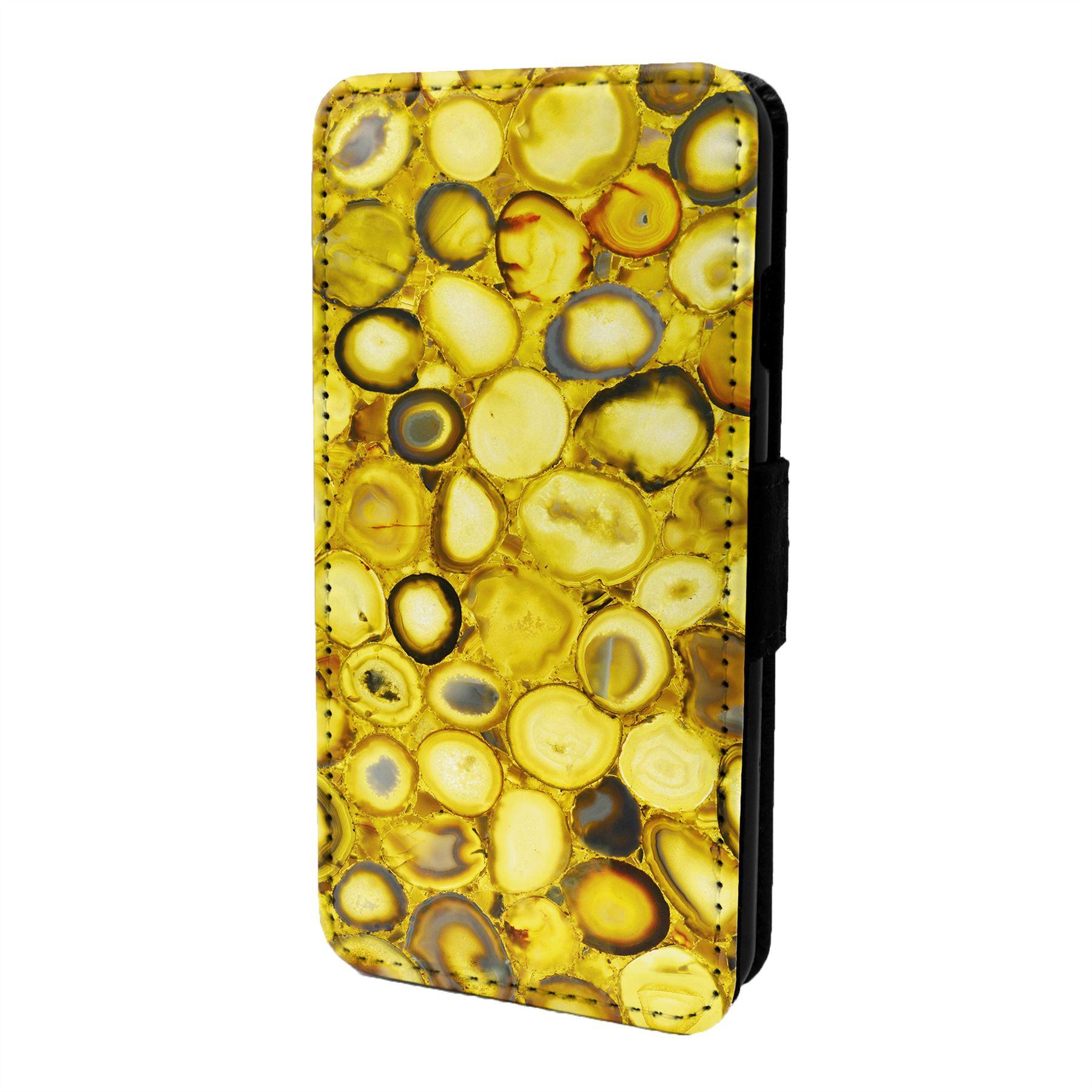 Marmol-Piedra-Estampado-Funda-Libro-para-Telefono-Movil-S6943