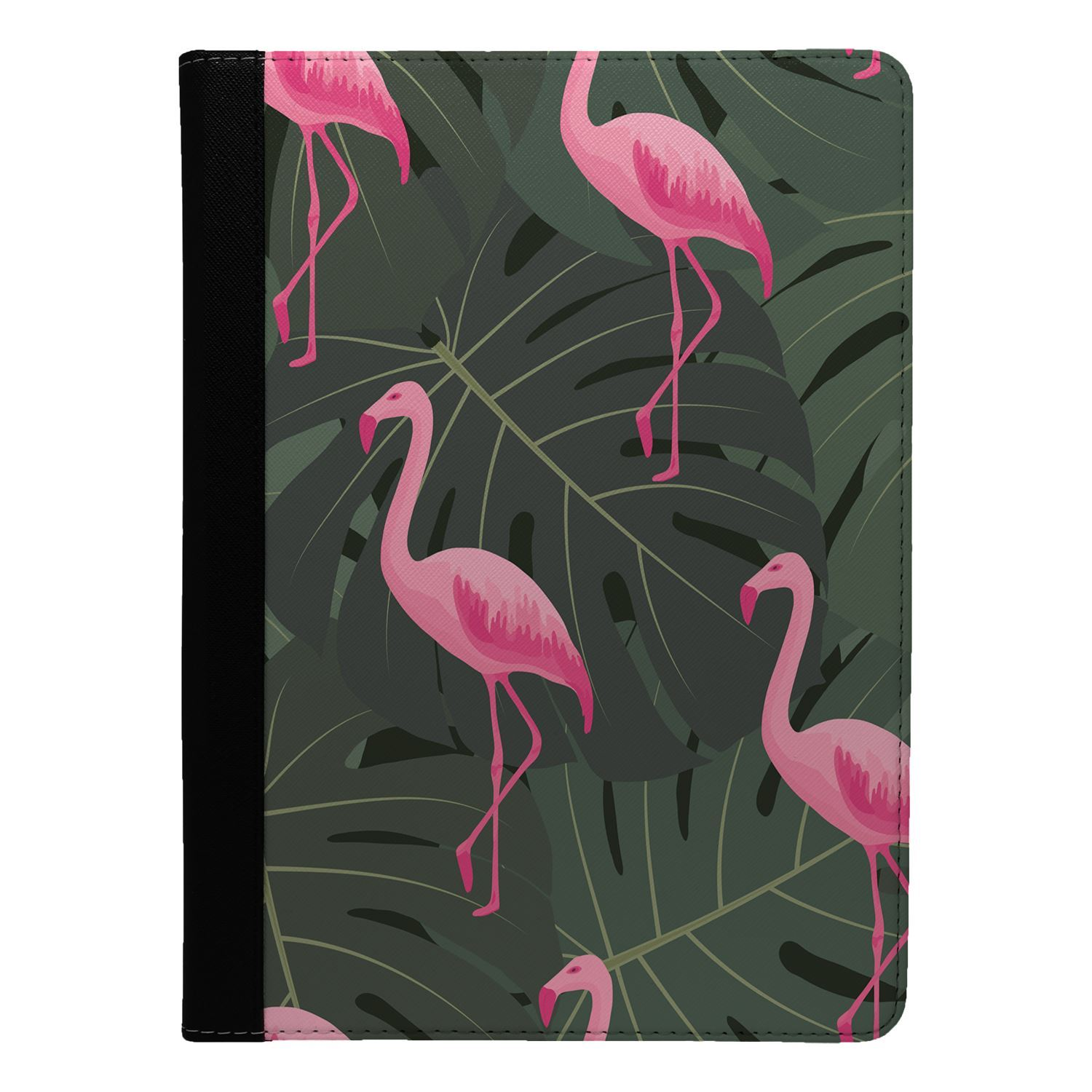 Tropical-Flamingo-Patron-Funda-Libro-para-Apple-Ipad-S9201