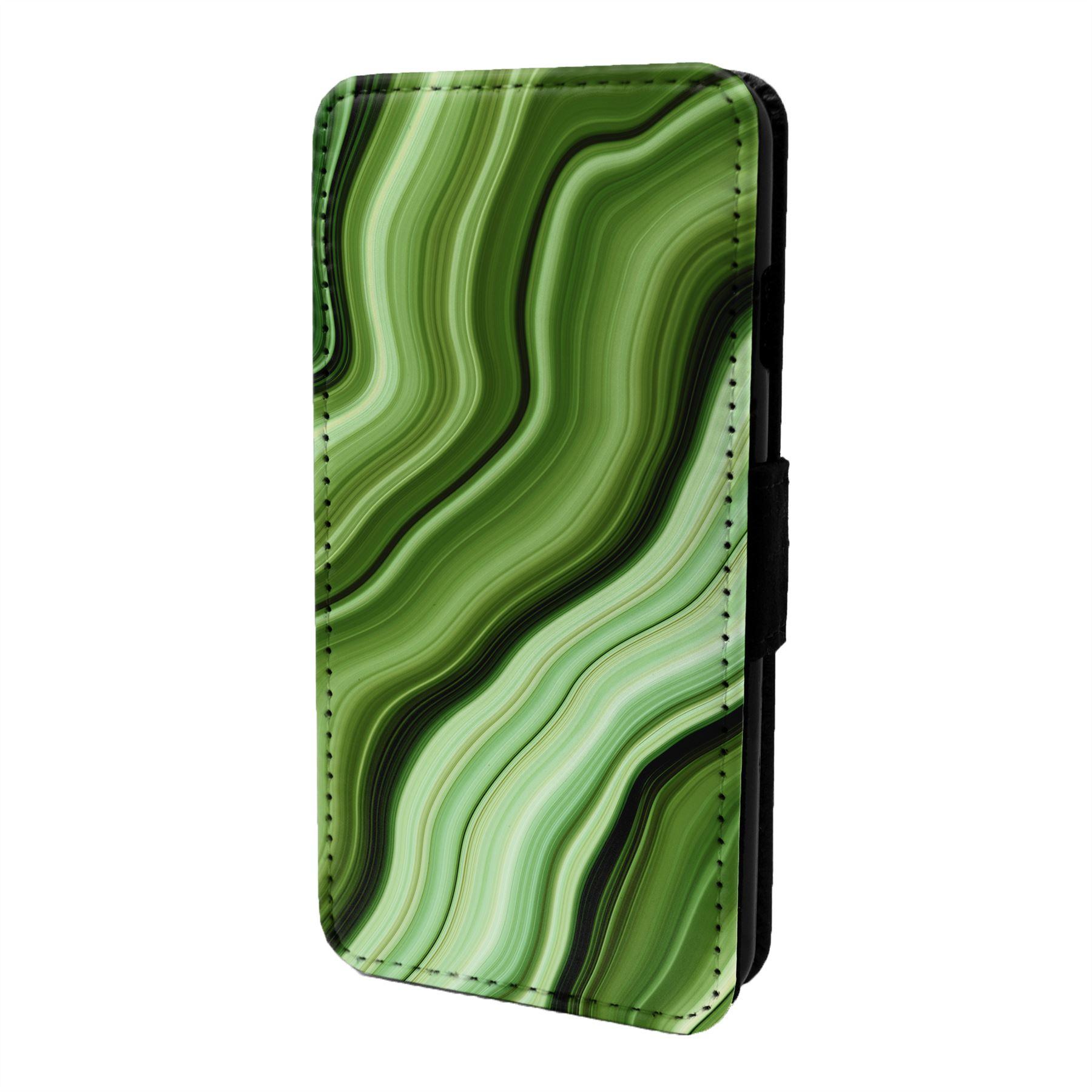 Marmol-Piedra-Estampado-Funda-Libro-para-Telefono-Movil-S6955