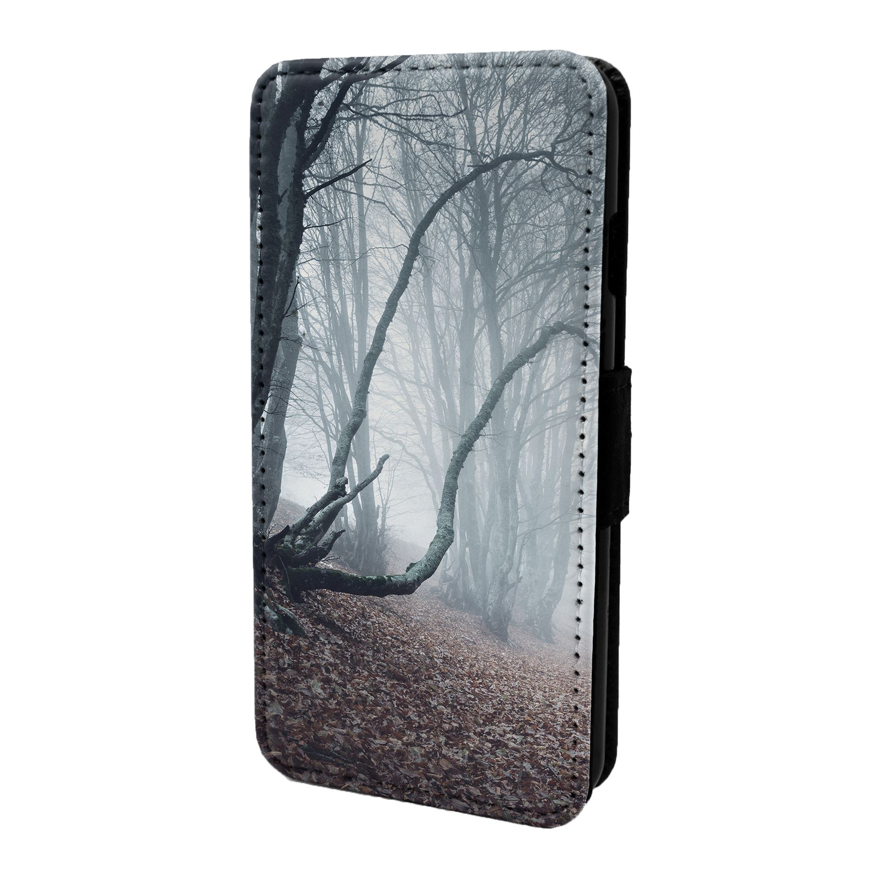 Magico-Paisaje-Estampado-Funda-Libro-para-Telefono-Movil-S6872