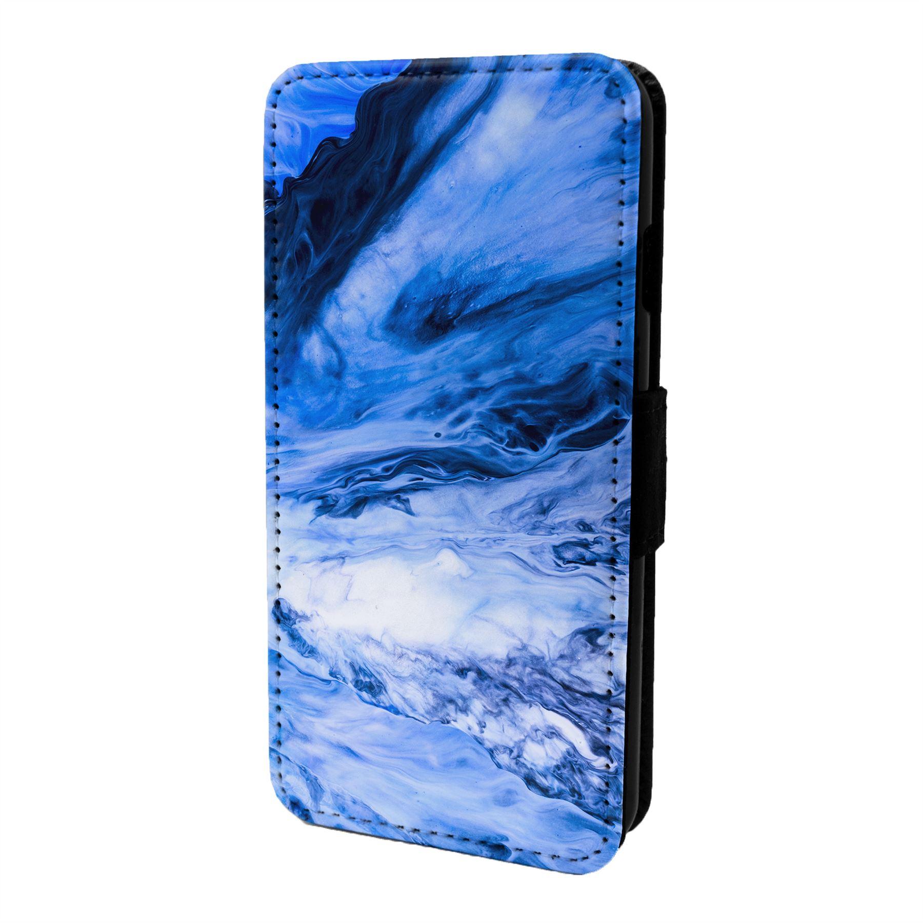 Marmol-Piedra-Estampado-Funda-Libro-para-Telefono-Movil-S6964