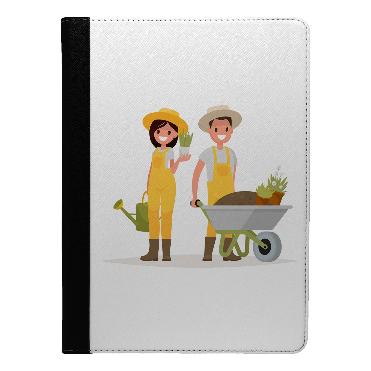 Gardening-Flip-Case-Cover-For-Apple-iPad-S4565