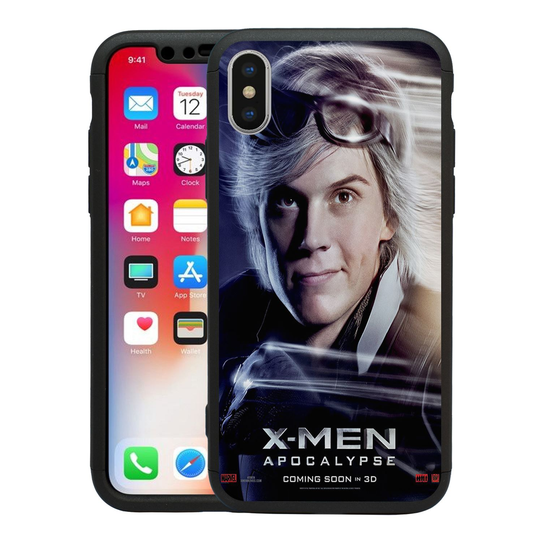 Maravilla-X-Men-Apocalypse-360-Funda-amp-Vidrio-Templado-para-Iphone-T2615