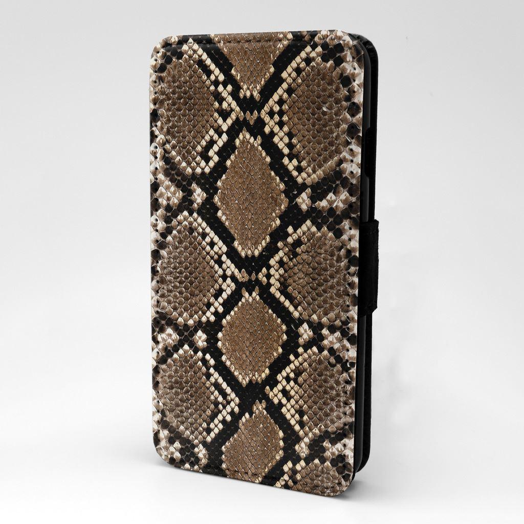 Snakeskin-Flip-Case-Cover-For-Phone-S-T2758