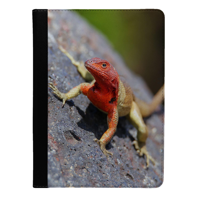 Reptile-Lizard-Print-Flip-Case-Cover-For-Apple-iPad-S9342