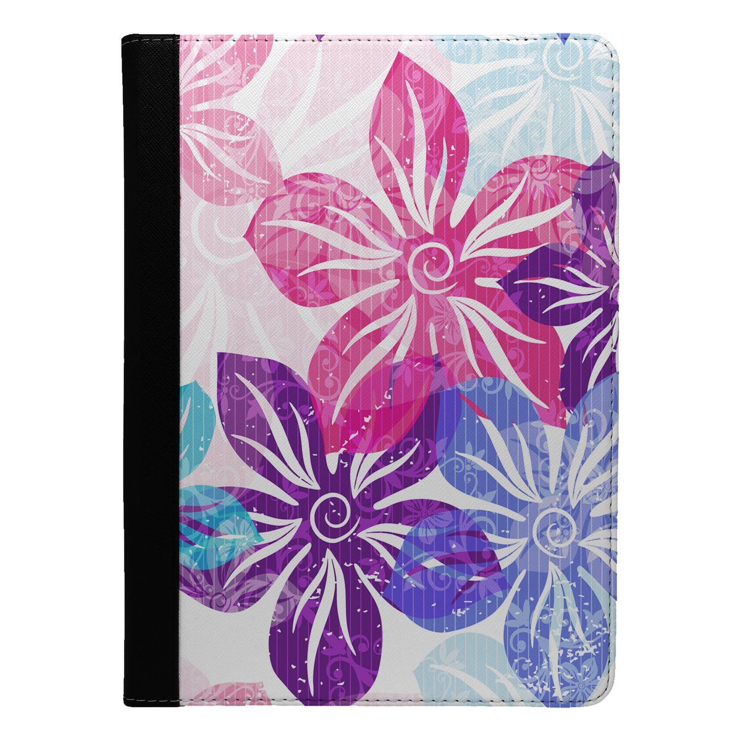 Flowers-Floral-Print-Flip-Case-Cover-For-Apple-iPad-S8891