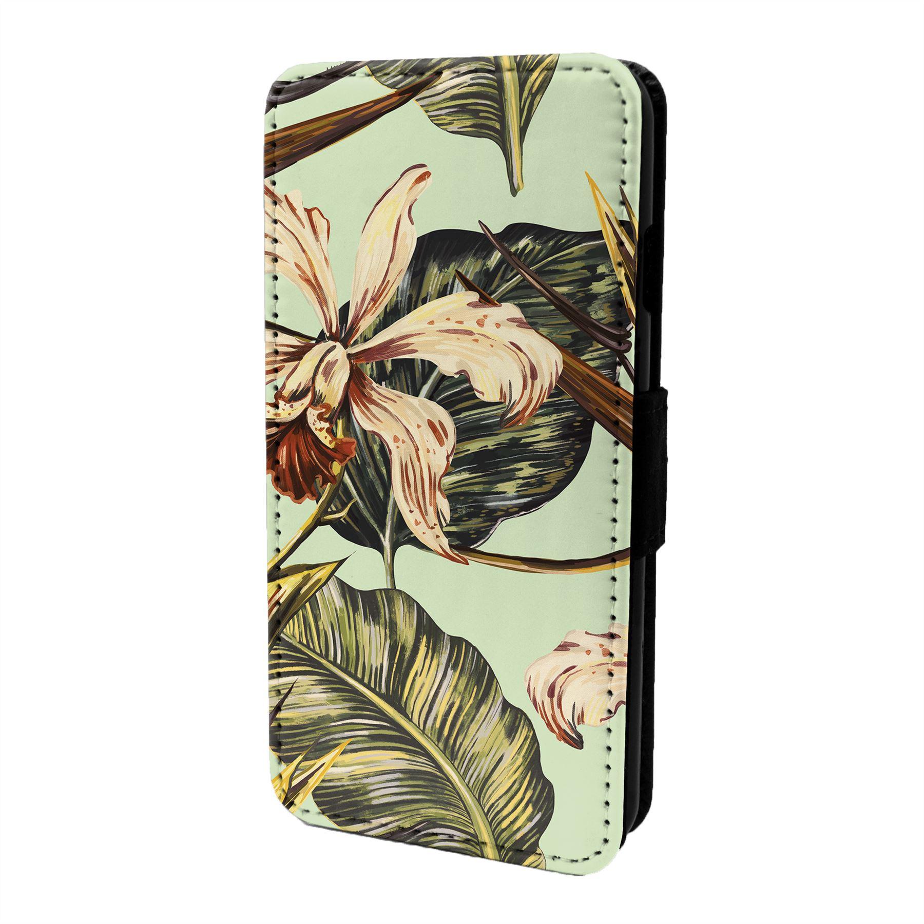 De-Flores-Diseno-Floral-Funda-Libro-para-Telefono-Movil-S6716