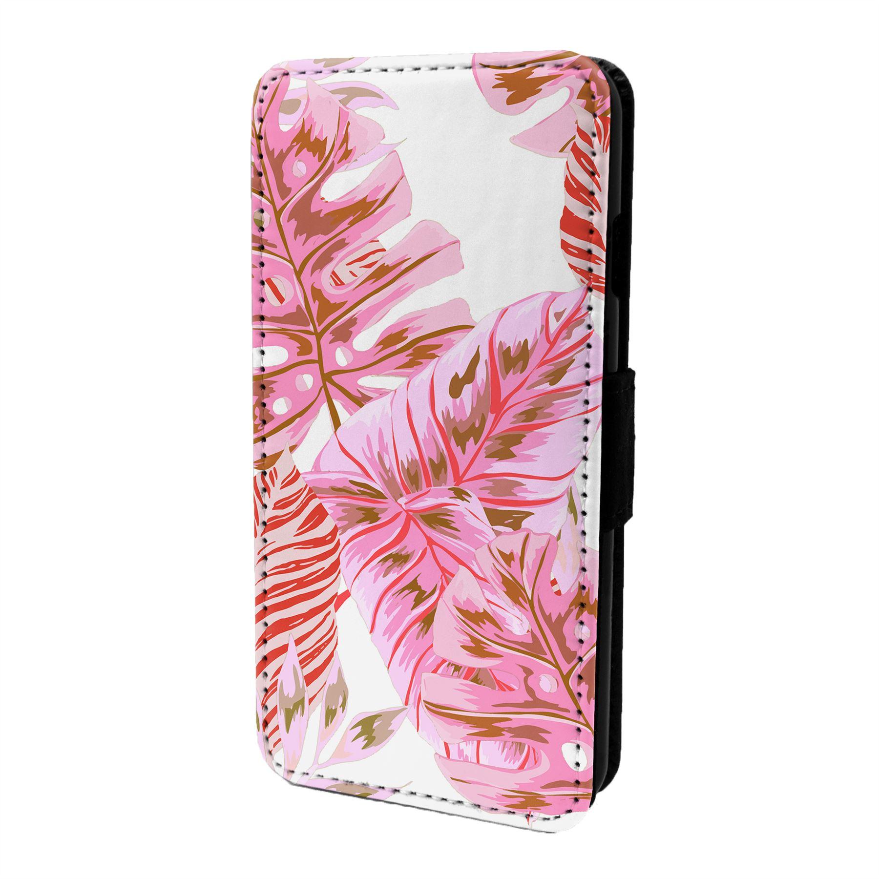 Tropical-Estampado-Funda-Libro-para-Telefono-Movil-S7115