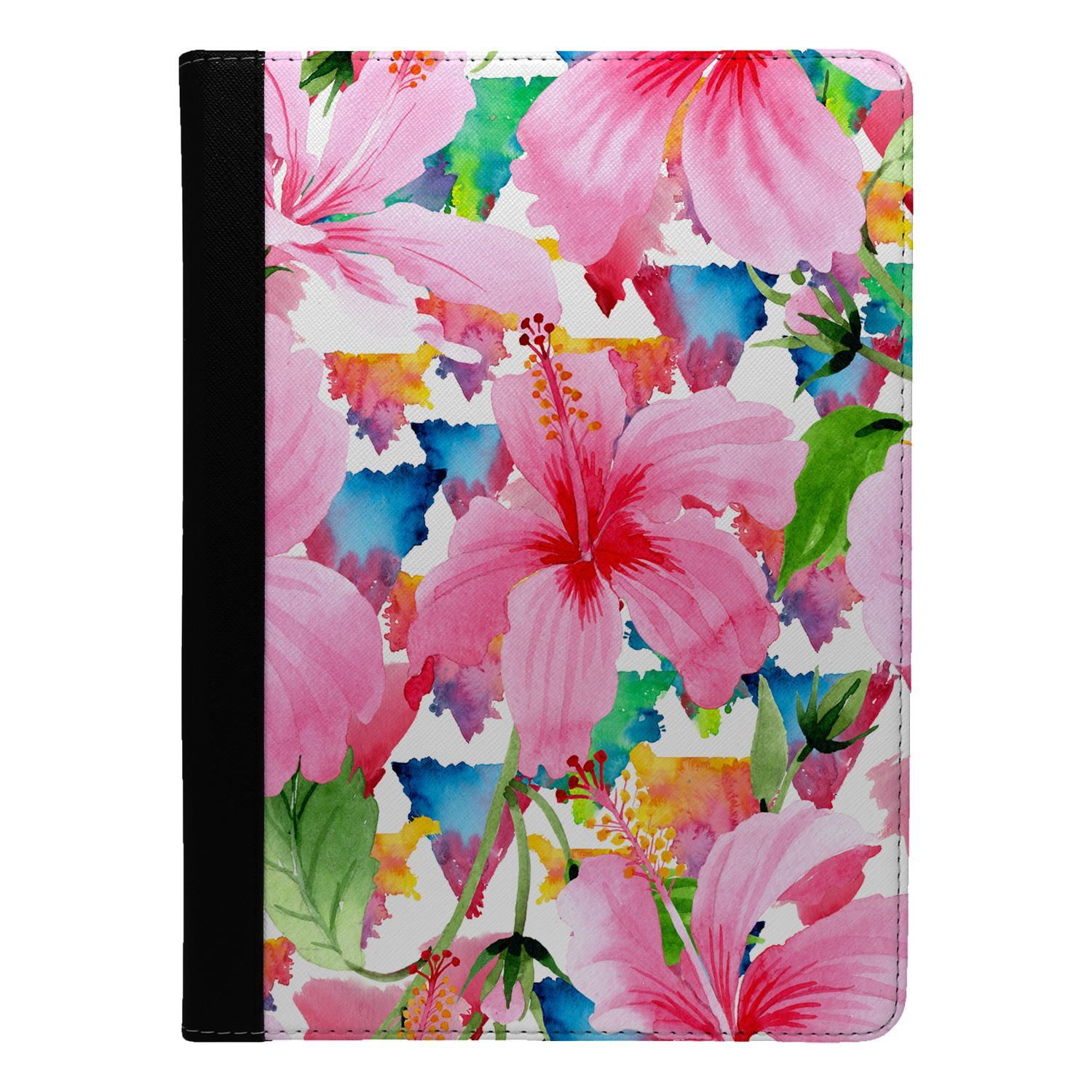 Flowers-Floral-Print-Flip-Case-Cover-For-Apple-iPad-S8949