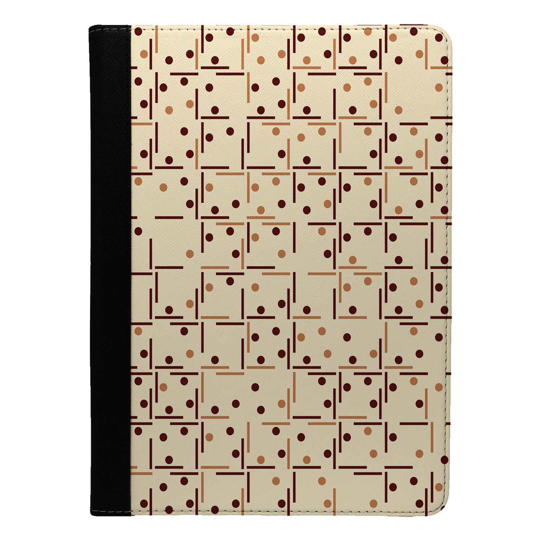 Geometric-Pattern-Flip-Case-Cover-For-Apple-iPad-S8295