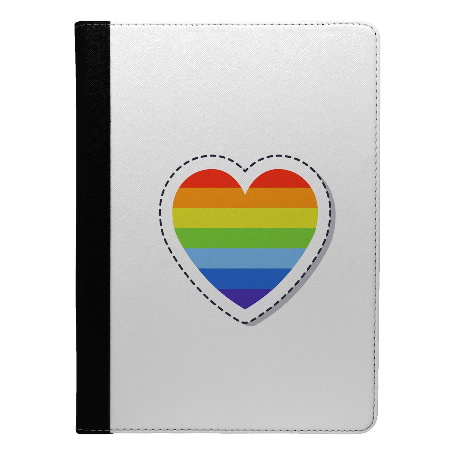 LGBT-Simple-Heart-Flip-Case-Cover-For-Apple-iPad-S855