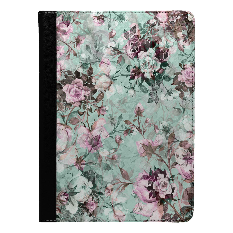 Flowers-Vintage-Print-Flip-Case-Cover-For-Apple-iPad-S9001
