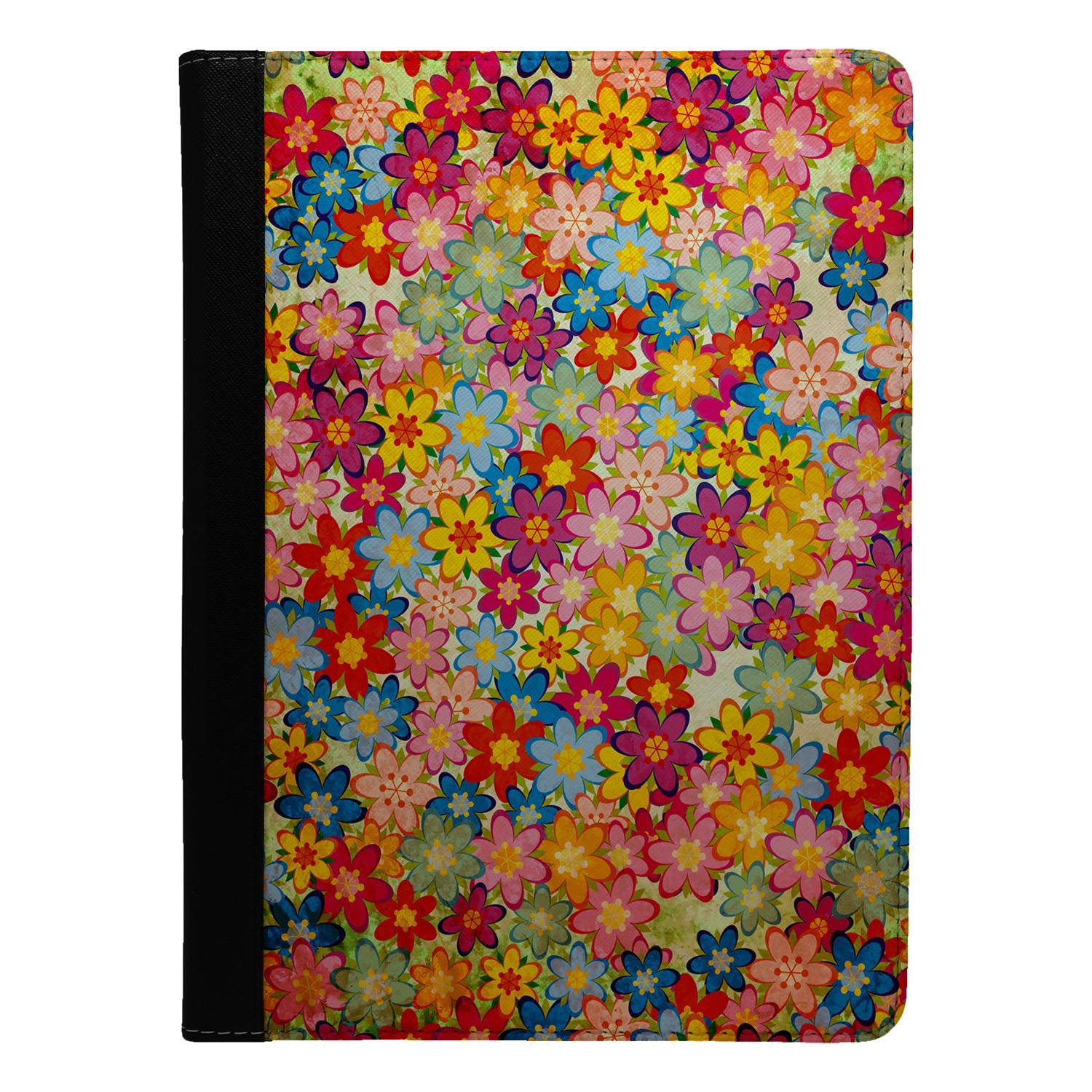 Flowers-Floral-Print-Flip-Case-Cover-For-Apple-iPad-S8887