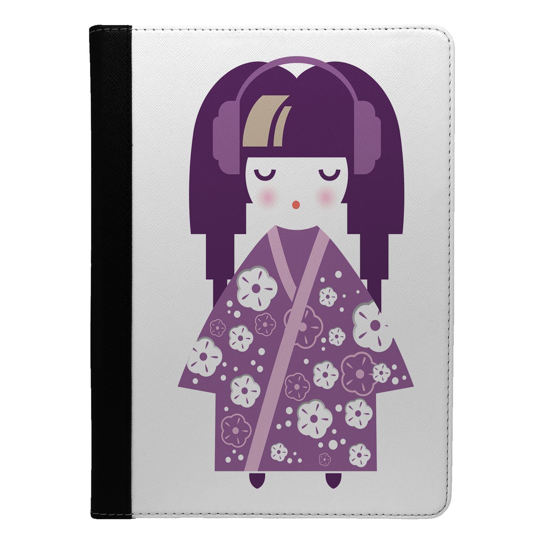 Japanese-Geisha-Girl-Print-Flip-Case-Cover-For-Apple-iPad-S8719