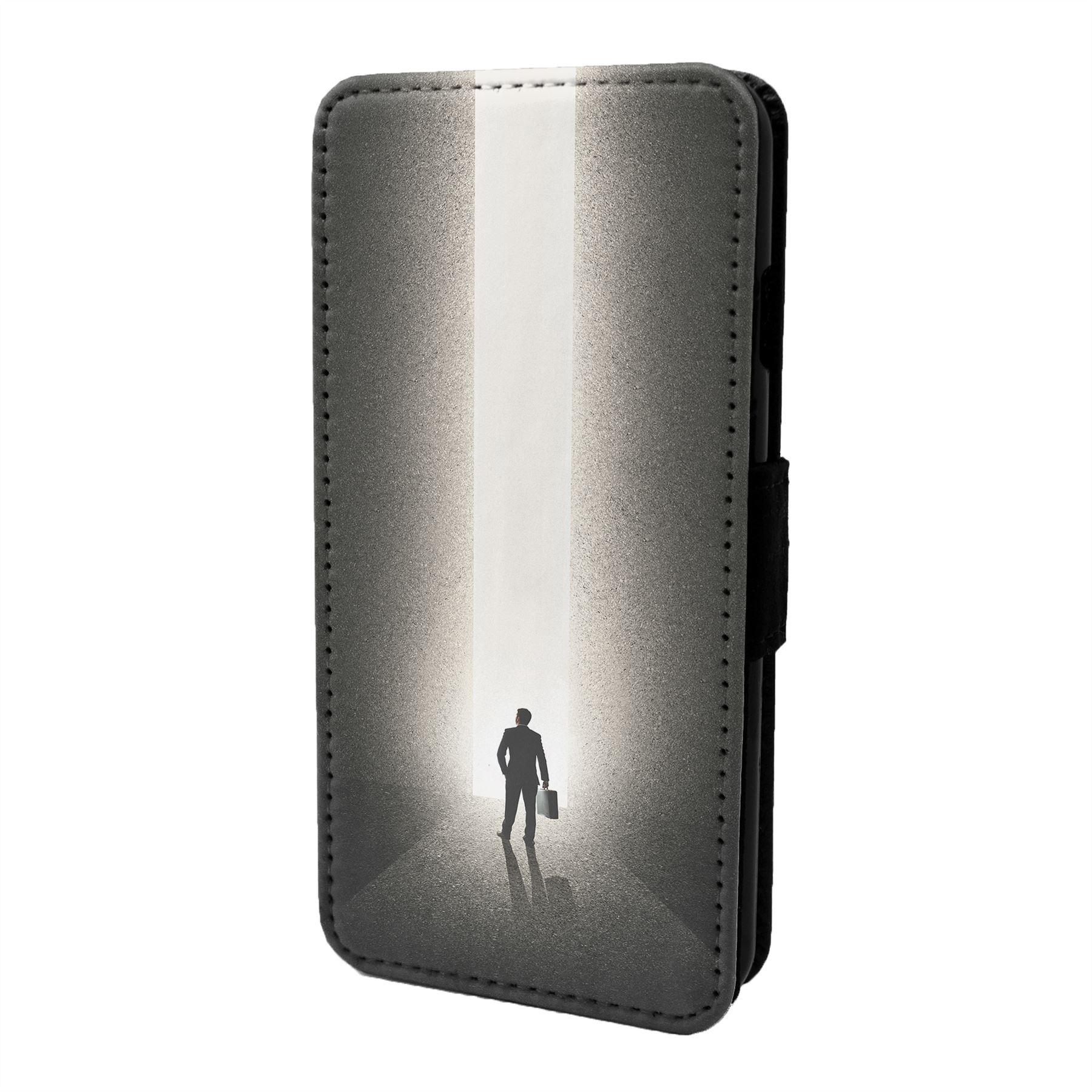 Minimal-Leger-Imprime-Etui-Rabattable-pour-Telephone-Portable-S6920