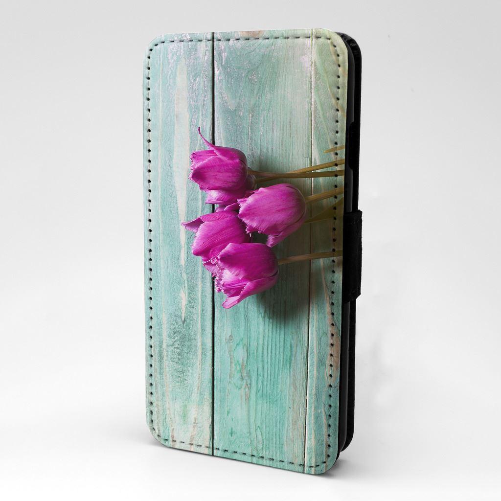 Tulipanes-Violeta-Abatible-Estuche-Cubierta-para-Apple-iPod-S1948