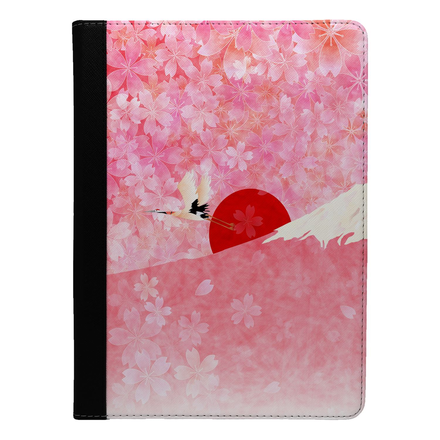 Japanese-Landscape-Print-Flip-Case-Cover-For-Apple-iPad-S8731