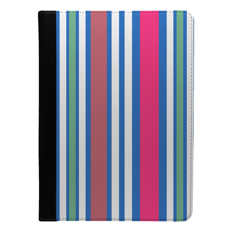 Minimal-Stripes-Pattern-Flip-Case-Cover-For-Apple-iPad-S8478
