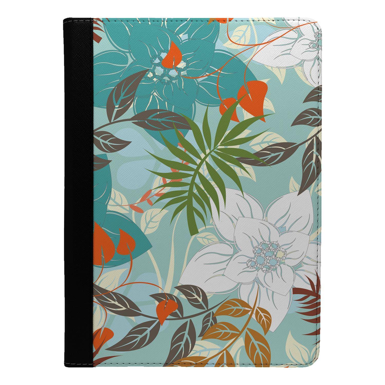 Flores-Estampado-Floral-Funda-Libro-para-Apple-Ipad-S8897