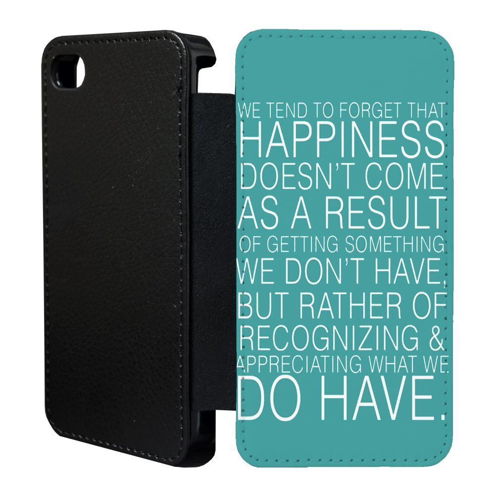 Sayings Quotes Flip Case Cover for Apple iPhone 5 5s 5C 6 6S 7 8  X  32  eBay