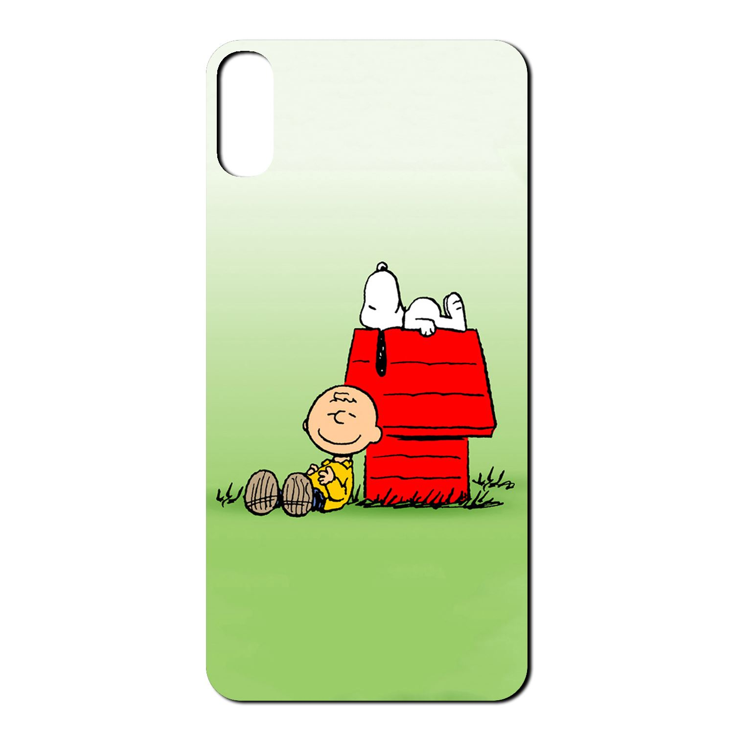 Snoopy Cartoon Charlie Brown Soft TPU Back Case Cover For Apple ...