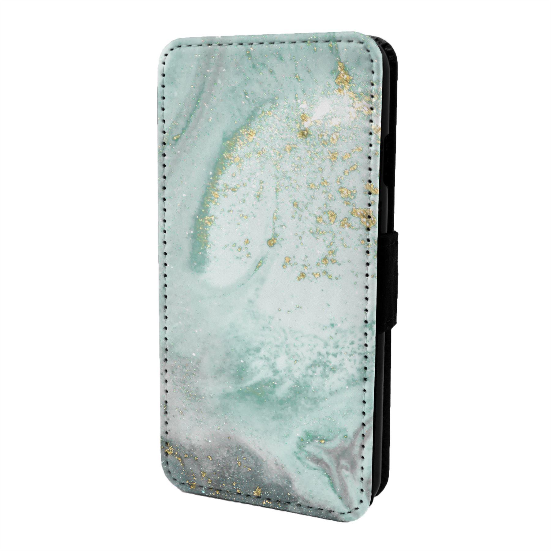 Imprime-Marbre-Etui-Rabattable-pour-Telephone-Portable-S6918