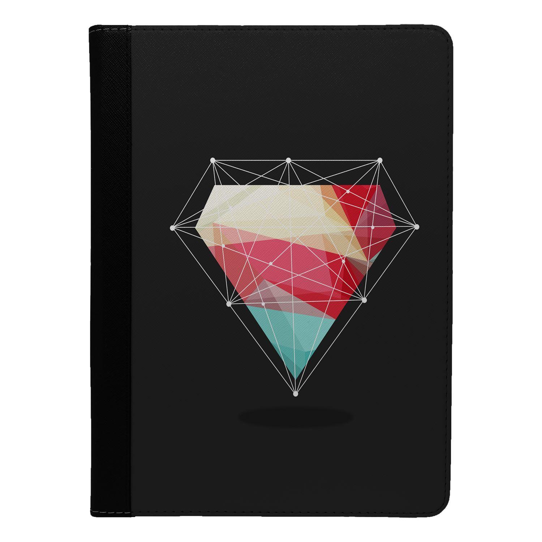 Diamant-Geometrique-Rabattable-Etui-COQUE-pour-Apple-Ipad-S4485