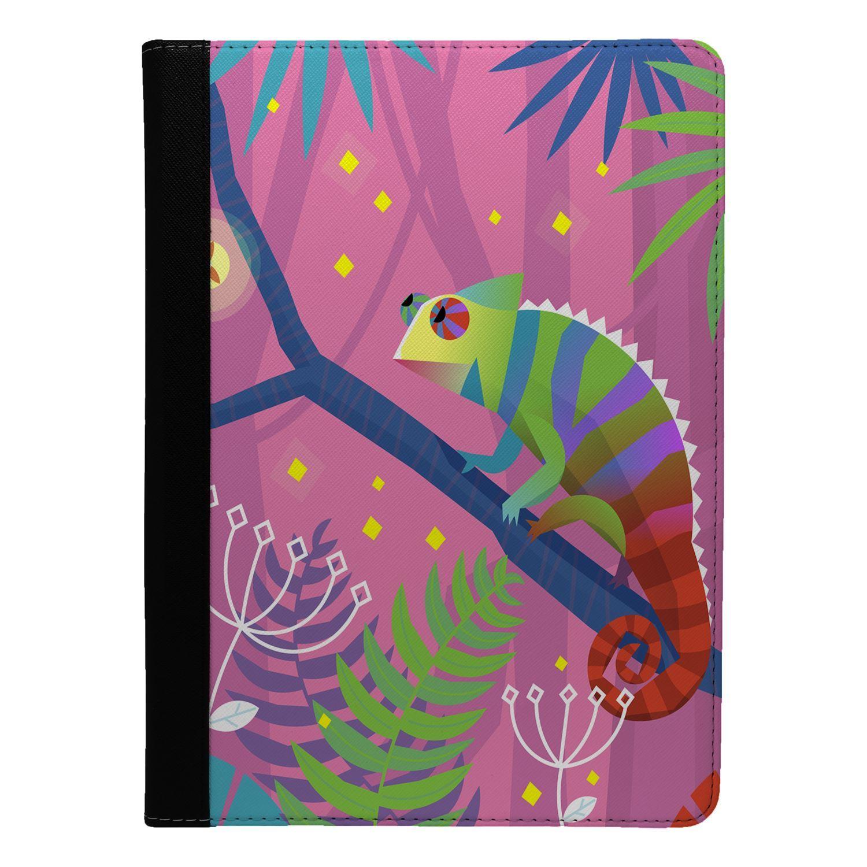 Lizard-Chameleon-Print-Flip-Case-Cover-For-Apple-iPad-S9328