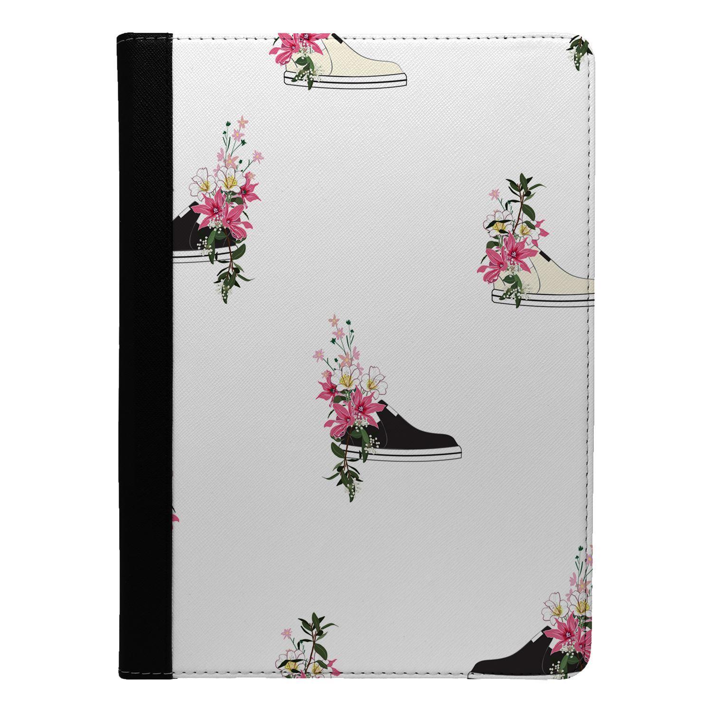 Shoe-Flower-Pattern-Flip-Case-Cover-For-Apple-iPad-S8555