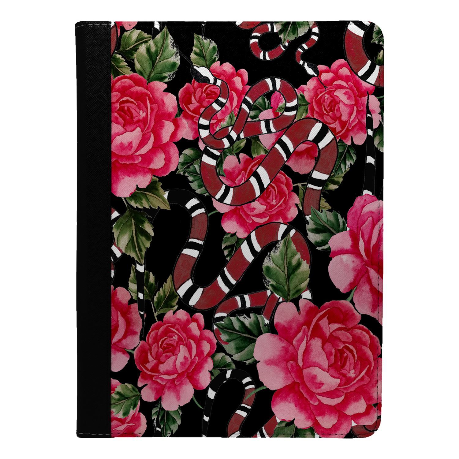 Flowers-Floral-Print-Flip-Case-Cover-For-Apple-iPad-S8939