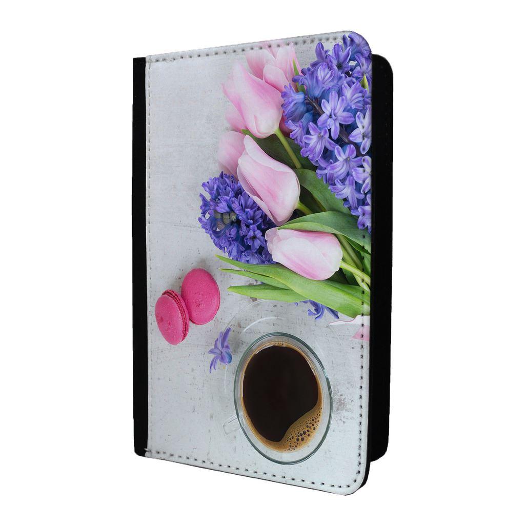 Orchids Vinyl Passport Holder Personalized