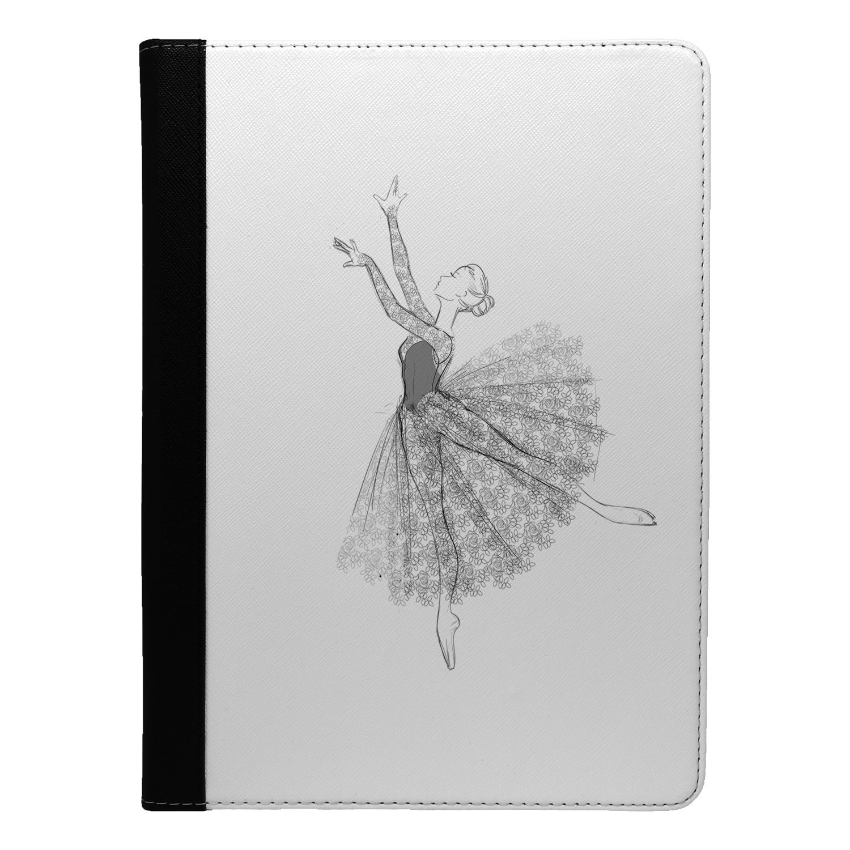 Musica-Dance-Ballet-Boceto-Funda-Libro-para-Apple-Ipad-S918