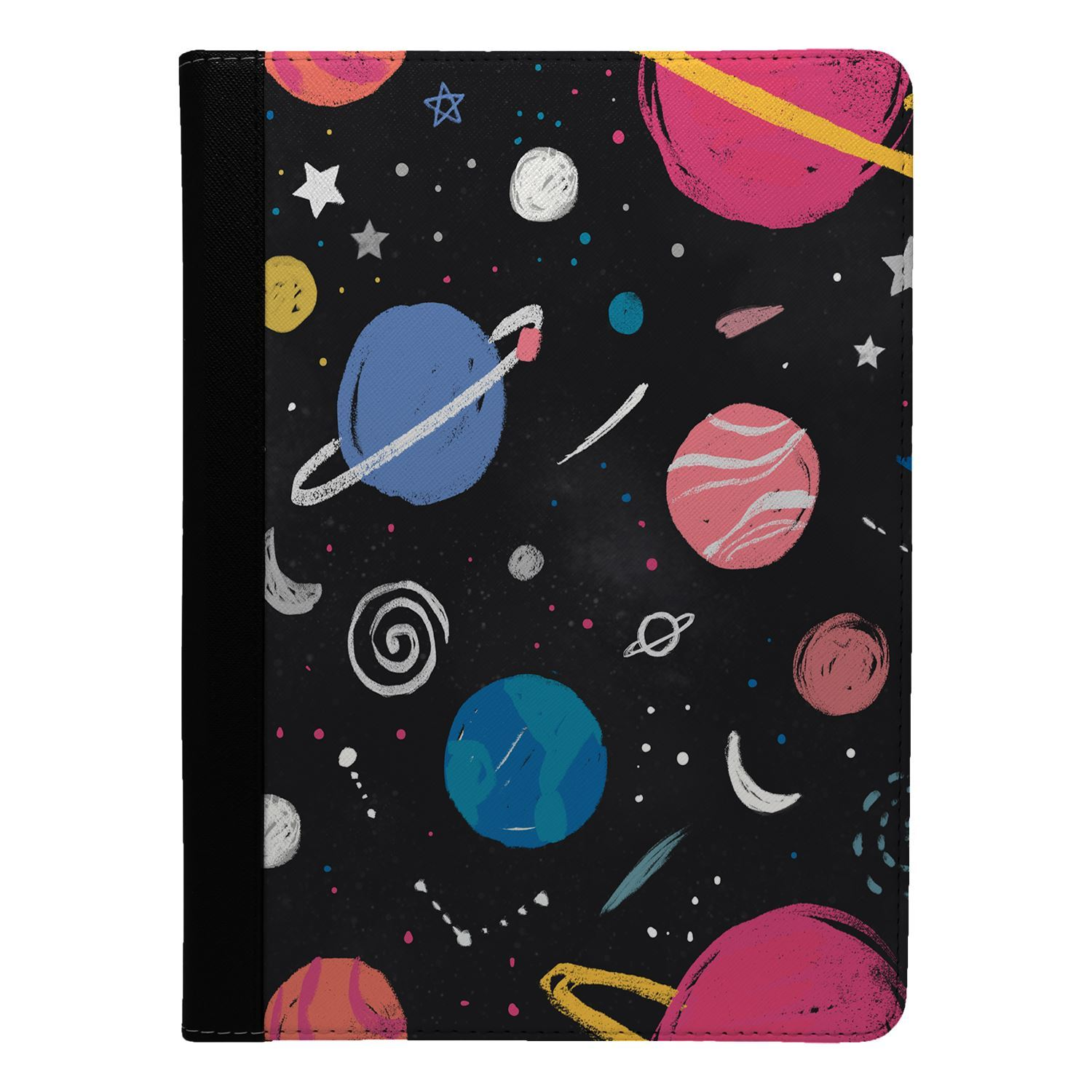 Stars-Space-Pattern-Flip-Case-Cover-For-Apple-iPad-S9181