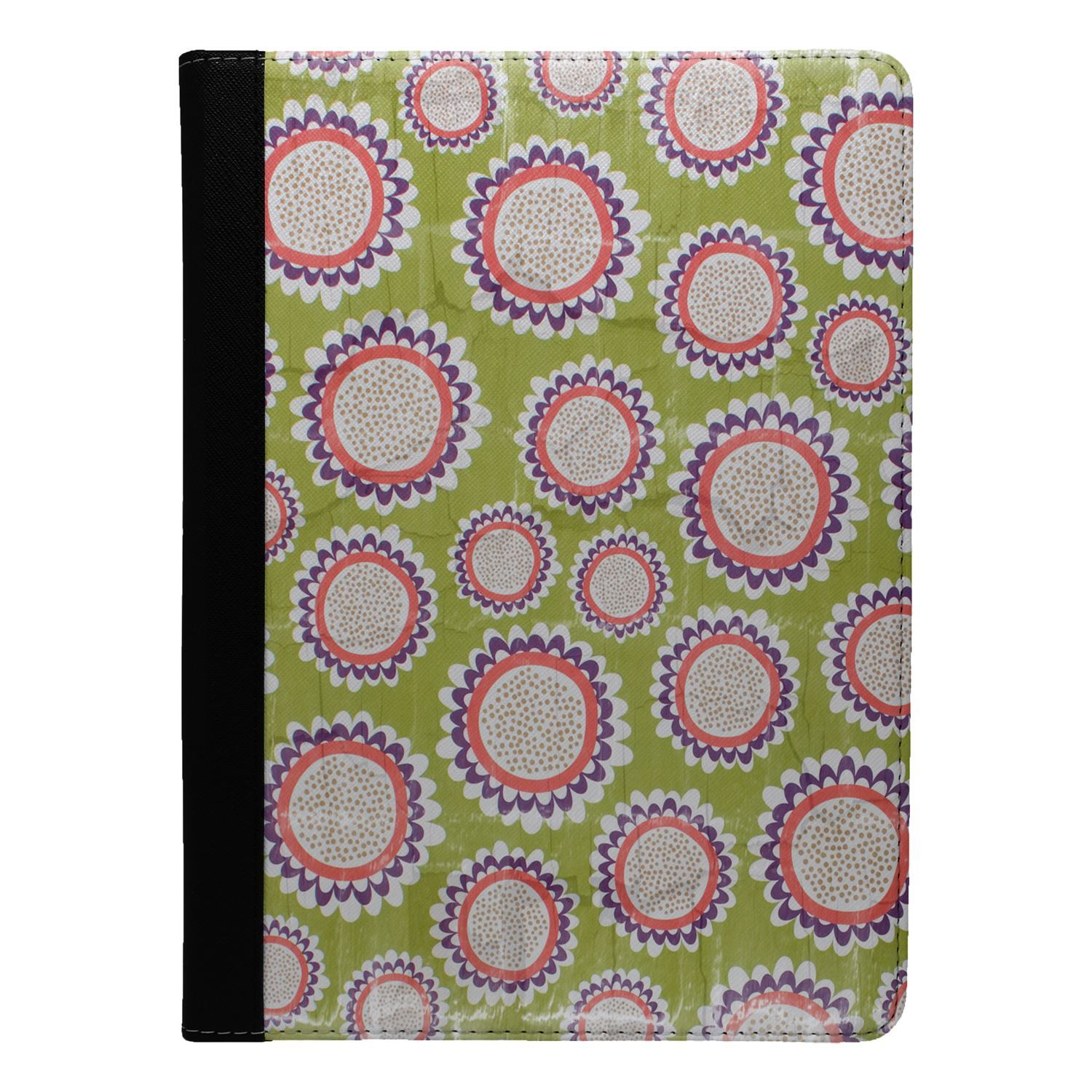 Flowers-Floral-Print-Flip-Case-Cover-For-Apple-iPad-S8991