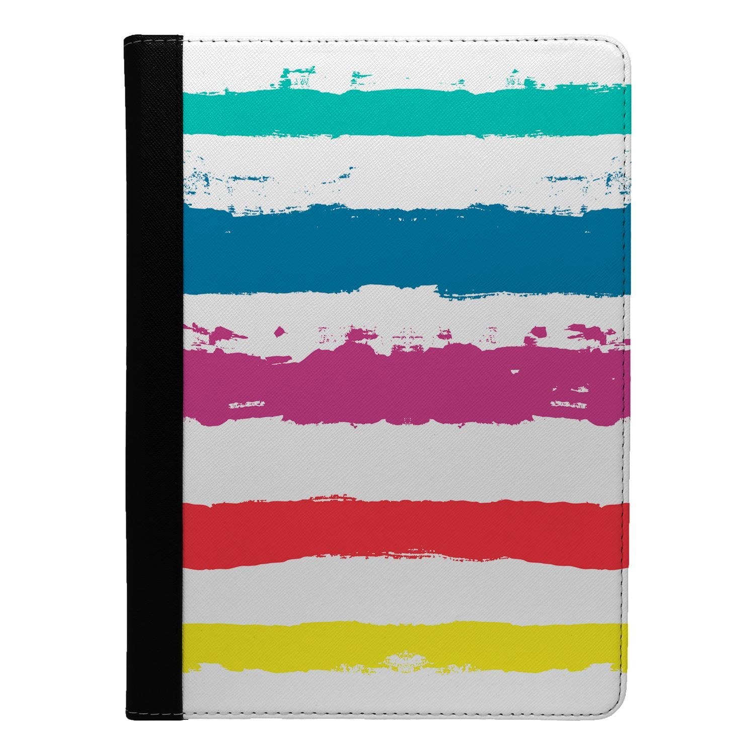 Minimal-Stripes-Pattern-Flip-Case-Cover-For-Apple-iPad-S8482