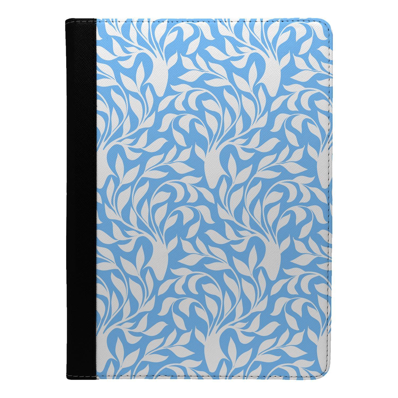 Blue-Leaf-Pattern-Flip-Case-Cover-For-Apple-iPad-S8810