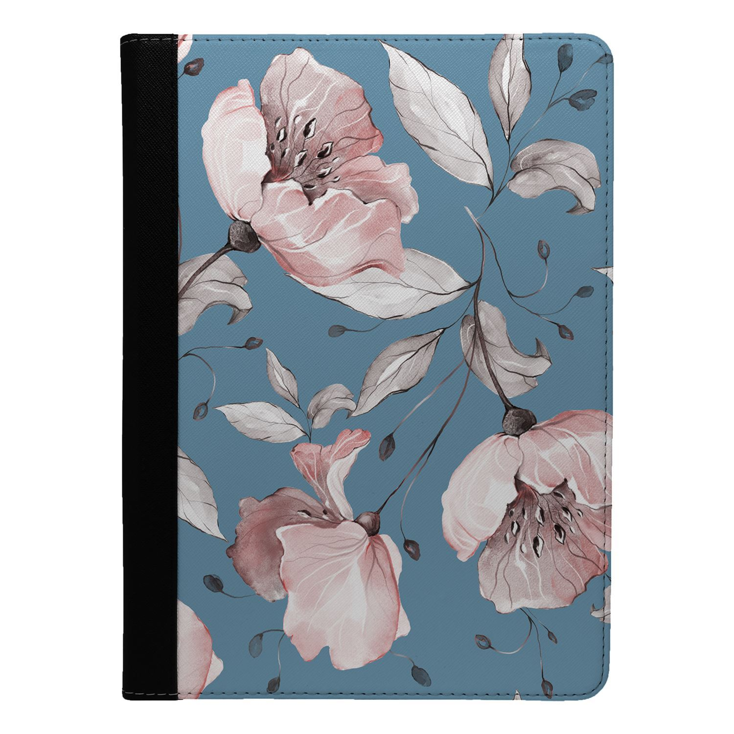 Flowers-Floral-Print-Flip-Case-Cover-For-Apple-iPad-S8947