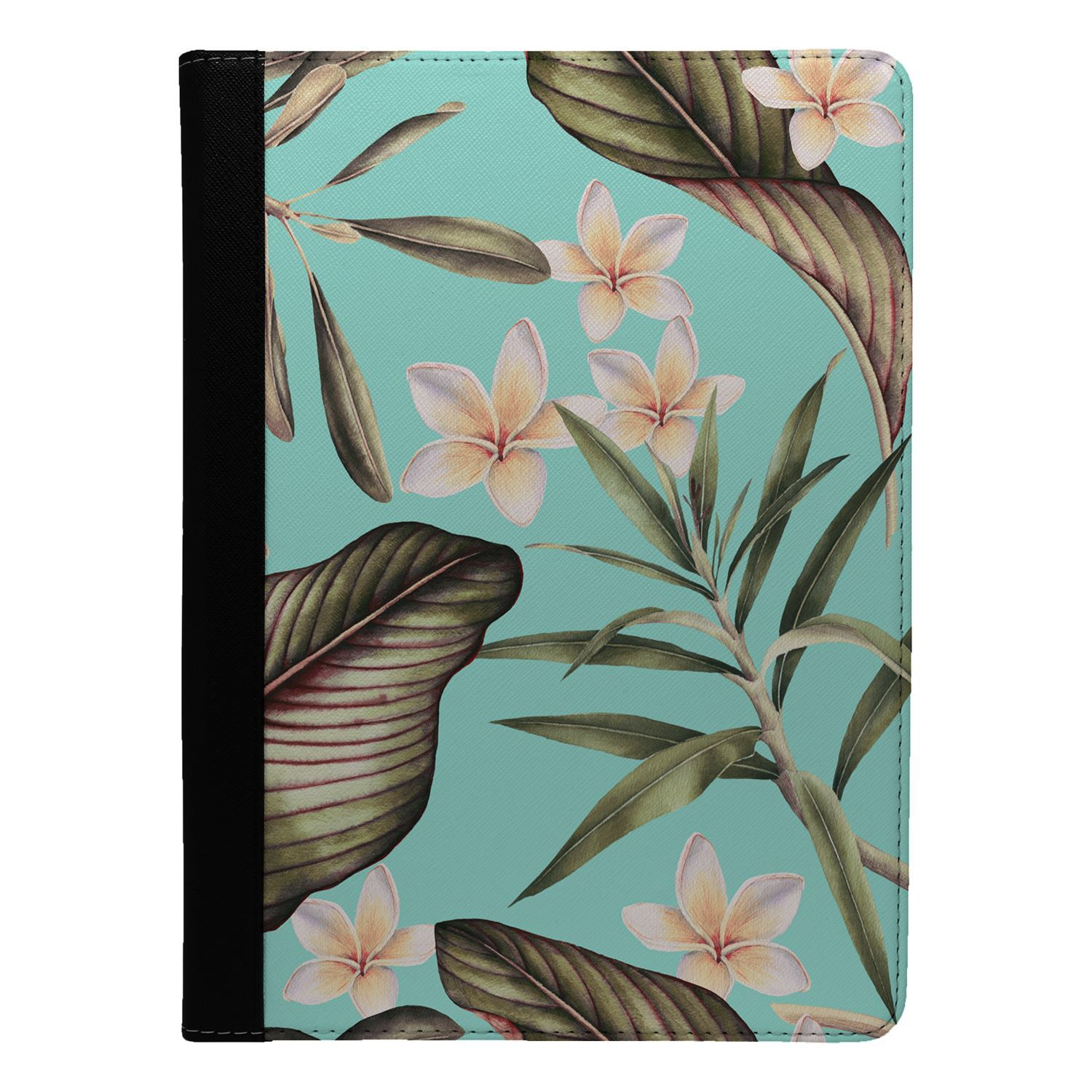 Flowers-Floral-Print-Flip-Case-Cover-For-Apple-iPad-S8918