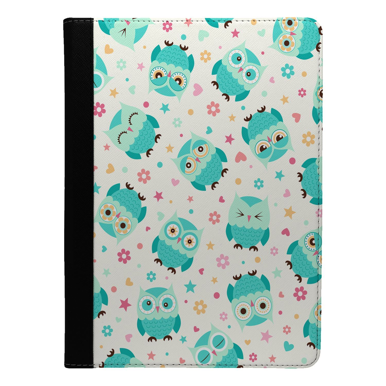 Cute-Owl-Pattern-Flip-Case-Cover-For-Apple-iPad-S8836