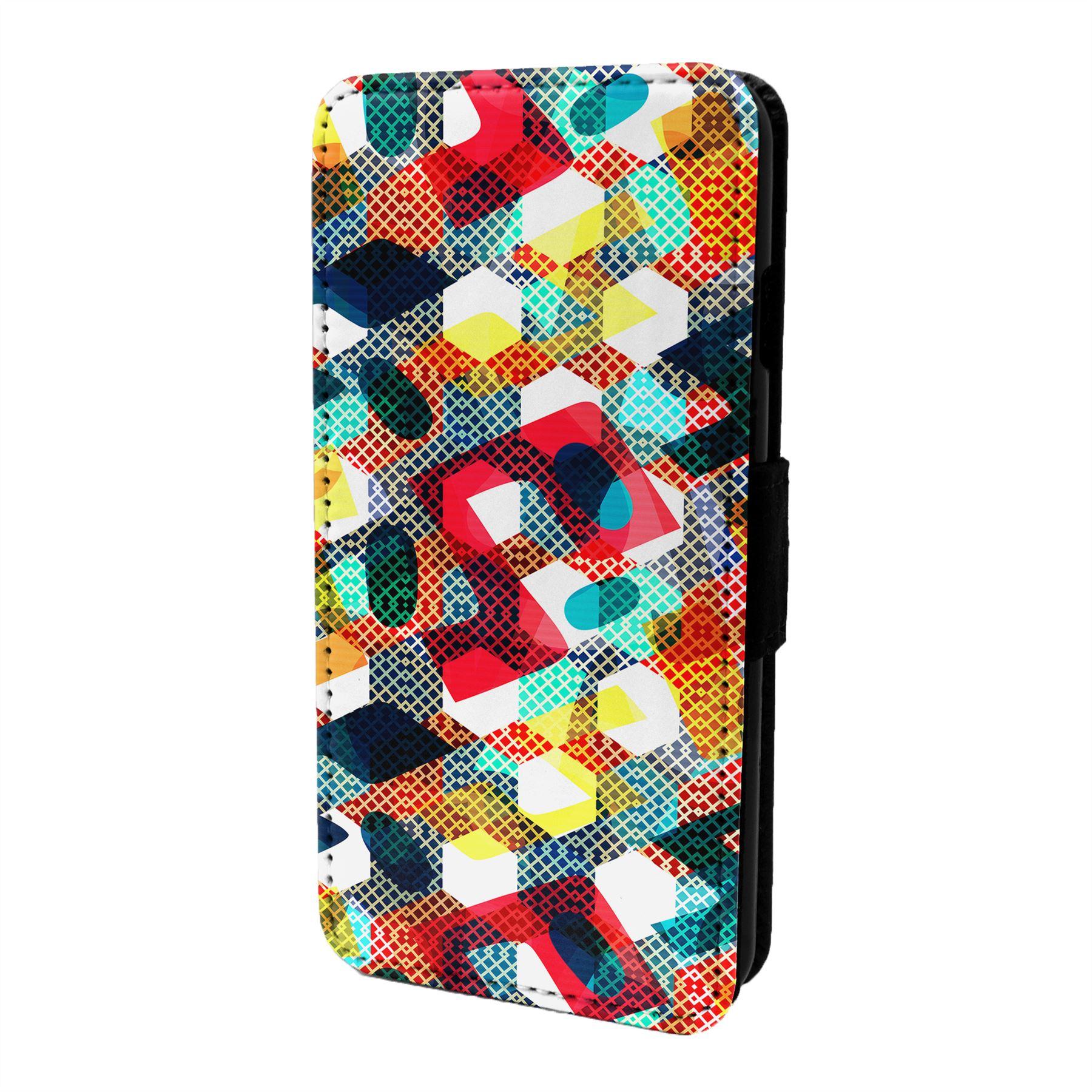 Patron-Geometrico-Funda-Libro-para-Telefono-Movil-S6736