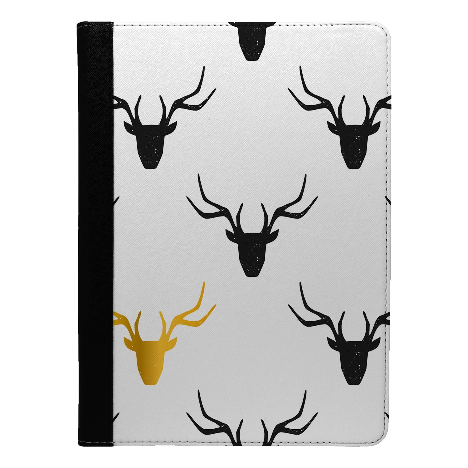 Moose-Deer-Pattern-Flip-Case-Cover-For-Apple-iPad-S5117